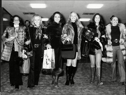 Pans People The Dance Troupe Leaving For Germany.