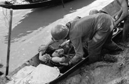 Watchf Associated Press International News Vietnam APHS58507 VIETNAMESE SOLDIER WOUNDED IN STRIKE