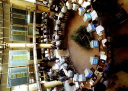 BROKERS WORKING AT THE CAIRO STOCK EXCHANGE