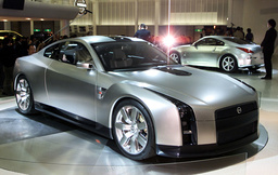 NISSAN MOTOR'S GT-R CONCEPT CAR ON DISPLAY AT 35TH TOKYO MOTOR SHOW 2001 IN MAKUHARI