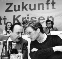 Hans-Dietrich Genscher and Guido Westerwelle