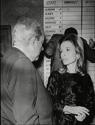 Princess Lee Radziwill Sister Of Jackie Kenendy / Jackie Onassis At The Sportsman's Club Tottenham Court Road 1968.