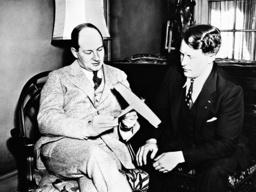 Bernt Balchen and Anthony Fokker, 1931