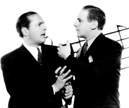 WAKE UP AND LIVE, from left, Ben Bernie, Walter Winchell, 1937, TM and Copyright ©20th Century Fox F