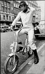 Tom Gilbey Modelling An Outfit For Men In The Seventies.