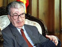 File picture of Macedonia's former president Kiro Gligorov