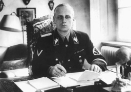 Joachim von Ribbentrop at his desk, 1938