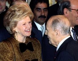 U.S. AMBASSADOR TO FRANCE PAMELA HARRIMAN FILER