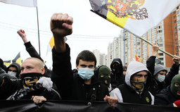 RUSSIA-POLITICS-SOCIETY-RACISM-PROTEST