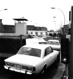 Berlin, Übergang Sonnenallee, 1972 - Berlin / Border Checkpoint / 1972 -