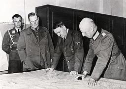 Hitler and Leeb