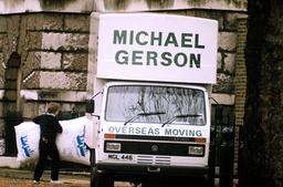 Margaret Thatcher leaving No10 Downing Street, London, Britain - 1990