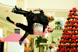 PAUL BLART: MALL COP, Mike Vallely (top), Kevin James, 2009. ©Sony Pictures/courtesy Everett Collect