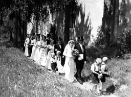Country wedding in Prussia, 1938