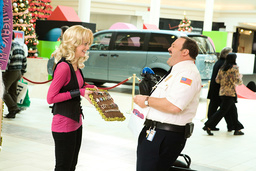 PAUL BLART: MALL COP, from left: Jayma Mays, Kevin James, 2009. ©Sony Pictures/courtesy Everett Coll