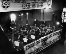 Berlin/Jüd. Winterhilfe /Konzert / 1937 - Berlin / Jüdische Winterhilfe / concert. -