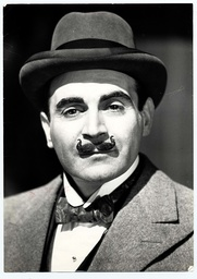 Television Programme 'agatha Christie's Poirot' 1988 - Portrait Of David Suchet As Poirot. Picture Taken At Hampton Water Works.