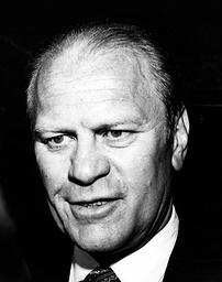 38th U.S. President Gerald R. Ford 1913 - 2006