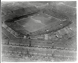 Aerial Picture Of The Maine Road Ground Taken When Manchester City Played Sheffield Wednesday In March 1934
