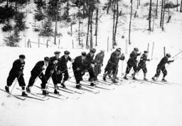 TRÄNING INFÖR VINTER-OS 1932