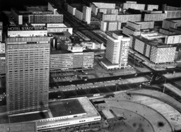 Hotel Stadt Berlin and centre of East Berlin in 1972