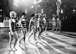 Josephine Baker performs at Madame-Ball Beginning of Carnival in Munich