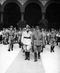 Count Galeazzo Ciano and Joachim von Ribbentrop in Munich 1940