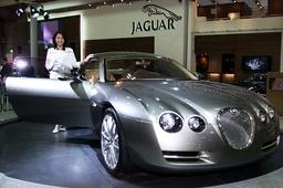 JAGUAR'S R-COUPE AT 35TH TOKYO MOTORSHOW 2001 IN MAKUHARI
