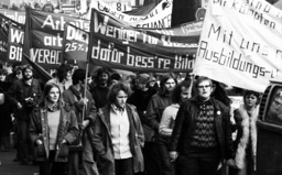 DGB demonstration for co-determination 1975