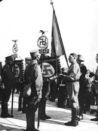 Consecration of the flag of the Nazi Party, 1936