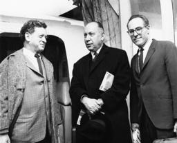 Max Lerner, Howard Clurman,Barney Rosset