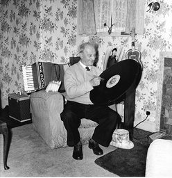 Arthur Dodd Who Is The Father Of Comedian Ken Dodd. Pictured At His Home In Liverpool.