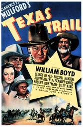 TEXAS TRAIL, clockwise from bottom left: Billy King, Judith Allen, Russell Hayden, Wililam Boyd, Geo