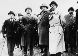 'Römische Protokolle'/Mussolini,Dollfuß - Roman Protocols / Mussolini, Dollfuss. -