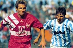 German DFB Cup - Season 1992-1993 - Hansa Rostock - VfB Stuttgart 2:0 i.E.