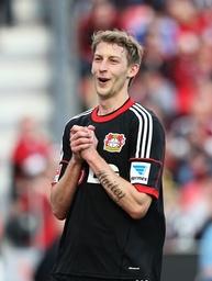 Leverkusen Fussball Männer 1 Bundesliga Saison 2013 2104 Spieltag 28 Bayer 04 Leverkusen vs Ein