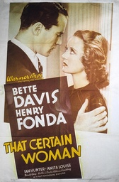 That Certain Woman - 1937