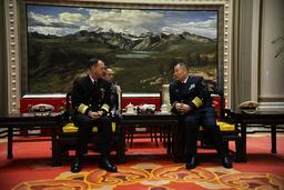 : CNO Adm. John Richardson meets with senior Chinese defense officials.