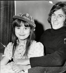 England And Qpr (queens Park Rangers) Footballer Stan Bowles With 5yo Tracy Wearing His England Cap Stanley Bowles (born 24 December 1948 In Collyhurst Manchester England) Is A Former Leading English Footballer Who Gained A Reputation As One Of The G