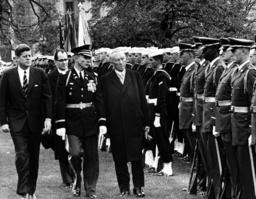 Adenauer meets Kennedy