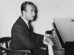 Claudio Arrau at the piano, 1936