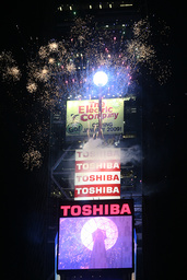 Revelers Bring In The New Year In Times Square