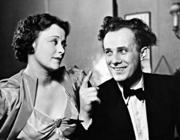 Ursula Grabley and Axel von Ambesser in 'Unsere kleine Frau', 1938