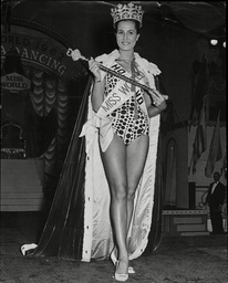 Catharina Lodders Winner Of The 1962 Miss World. She Would Go Onto Marry Chubby Checker