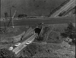 Law Crime Robbery 1963 'great Train Robbery' Showing Aerial View Of Bridego Bridge Where The Train Was Robbed The Great Train Robbery Is The Name Given To A 2.6 Million Train Robbery (the Equivalent Of Around 40 Million Today) Committed On Thursday