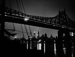 Queensboro Bridge in New York, 1934