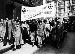 KdF-Urlauber aus Österreich 1938 - 'KdF'-Holidaymakers fr.Austria / 1938 -