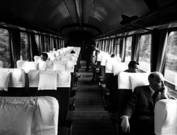 New 'Rheingold'-express of German Bundesbahn