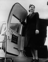 Lufthansa stewardess, 1938