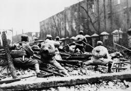 Schlacht um Schanghai1932/chin.Soldaten - Battle for Shanghai / Chinese Soldiers -